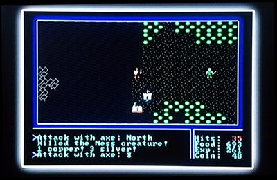 ウルティマ (C)Ultima   footage used with permission of Electronic Arts Inc.