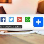 LINEにも対応!ソーシャルボタン(SNSボタン)を簡単設置できるプラグイン「AddToAny Share Buttons」
