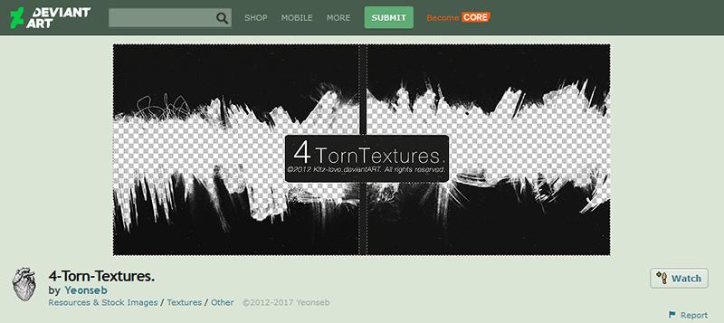 4 Torn Textures