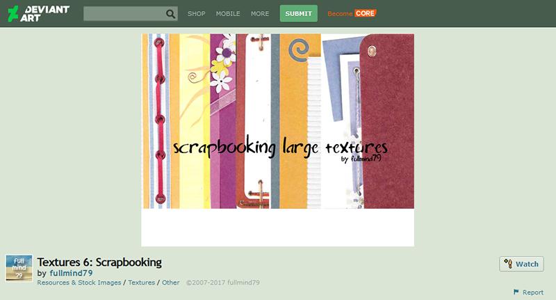Textures 6: Scrapbooking