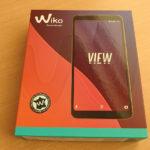 2万円台で縦長液晶、フランス発のおしゃれなSIMフリースマホ「Wiko View」を買ったよ!