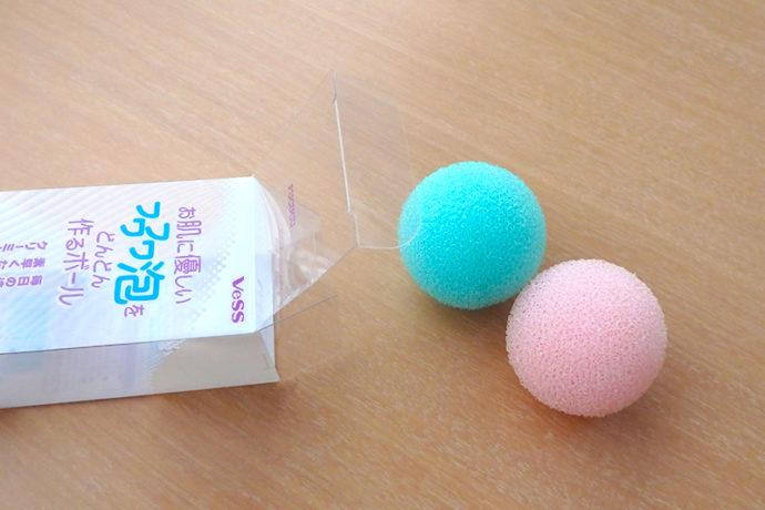洗顔する時の泡立てには「泡立てボール」がおすすめ!