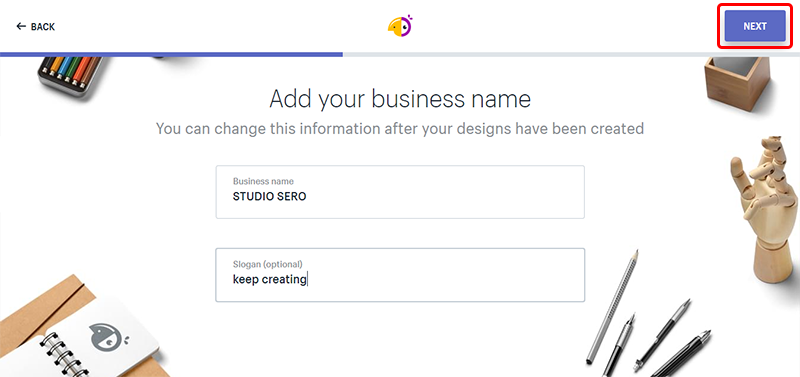 Add your business name