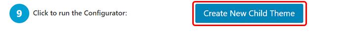 Click to run the Configurator